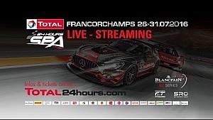 24h Spa: Rennen live