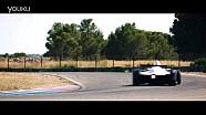 NextEV Formula E 车队测试第三赛季赛车