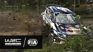 Rally Finland 2016: CRASH Ogier SS10