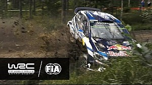 Rally Finland 2016: CRASH Ogier SS10