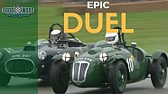 1950s sportscars in epic duel to finish line