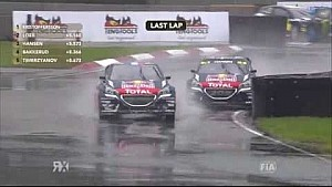 Teammate wipe out! | Latvia RX | FIA World RX