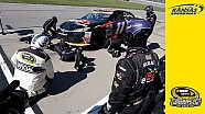 Handling issues force Hamlin to pit road