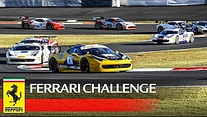 Ferrari Challenge APAC, Fuji 2016 - Highlights Race 1