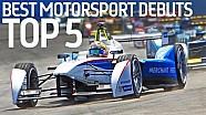 Top 5 Best Motorsport Debuts! - Formula E