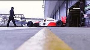 McLaren MP4/6 in Silverstone