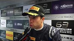 2016 FIA F3 World Cup - Antonio Felix Da Costa on pole