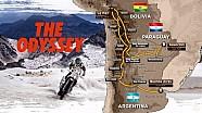 La mappa – Dakar 2017