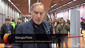 Giorgio Piola análisis técnico : Mercedes W07 Hybrid