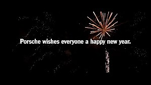 Happy New Year from Porsche.