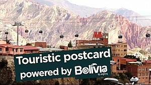 Rest day - Touristic postcard; powered by Bolivia