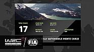 Les 17 spéciales du Rallye Monte-Carlo 2017