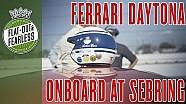 Dentro de un Ferrari Daytona en Sebring