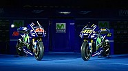 Presentatie van de Movistar Yamaha MotoGP YZR-M1 2017