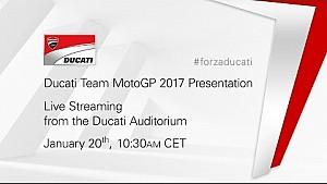 Livestream: MotoGP-Präsentation von Ducati
