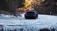 WRC-蒙特卡洛拉力赛-结冰弯道事故集锦