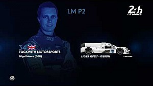 24 Heures du Mans 2017 - LM P2 class entry list