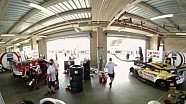 Bathurst Garage Timelapse in 360 Degrees!