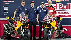 Red Bull Honda World Superbike Team Launch - Hanger-7