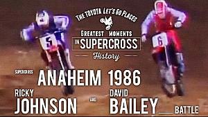 Anaheim 1986    Ricky Johnson and David Bailey battle