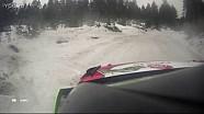 WRC-2017瑞典拉力赛-克里斯·米克第五赛段事故