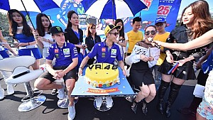 Rossi and Viñales Round Up Asian Promotional Tour