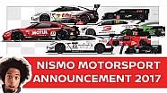 Le programme des courses de NISMO en 2017
