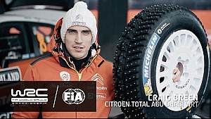 Rally Sweden 2017: Tech Check Studded Tires