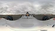 全景记录汉密尔顿驾驶梅赛德斯W08赛车
