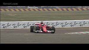 Ferrari SF70H on track
