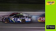 Johnson, Blaney receive damage after contact