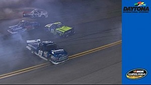Big wreck early at Daytona