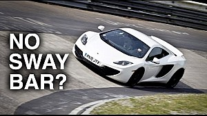 McLaren's Unique Suspension Needs No Sway Bar
