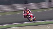 Марк Маркес та Дані Педроса. Тести 2017 року MotoGP. День 1