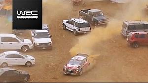 2017WRC-墨西哥拉力赛-克里斯·米克第19赛段误入停车场