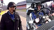 Mark Zuckerberg ride and drive with Dale Earnhardt Jr.
