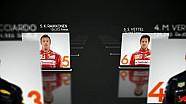 2017 Formula 1 Avustralya GP Cuma 1. antrenman sonuçları