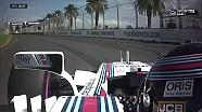 Williams'ın çaylağı Lance Stroll'un kazası