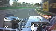GP d'Australie - Hamilton-Vettel en caméra embarquée