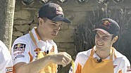 Repsol Honda riders enjoy 'calçotada' with friends