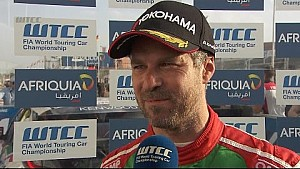 Marrakesh: Interview mit Tiago Monteiro