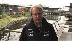 Chinese GP: Robert Fernley report