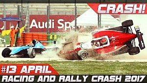 Week 13 April 2017 racing and rally crash compilation