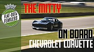 On board brutal V8 Corvette takes pole and spins at road Atlanta
