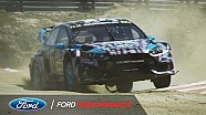 Ford Focus RS RX in action: 40 seconds from Portugal | FIA World Rallycross