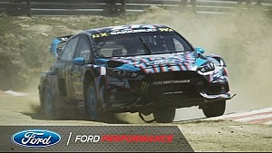 Ford Focus RS RX in action: 40 seconds from Portugal   FIA World Rallycross