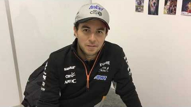فورمولا 1  جائزة روسيا الكبرى 2017: لفّة مع بيريز