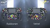 Das Lenkrad des Ferrari SF70H