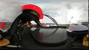 360 Video: WEC Silverstone LMP2 - TDS Racing #28 ile araç üstü tur