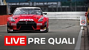 Pre qualifying  - Blancpain Endurance series - Silverstone 2017 - Live + GT-R onboard 1080p HD